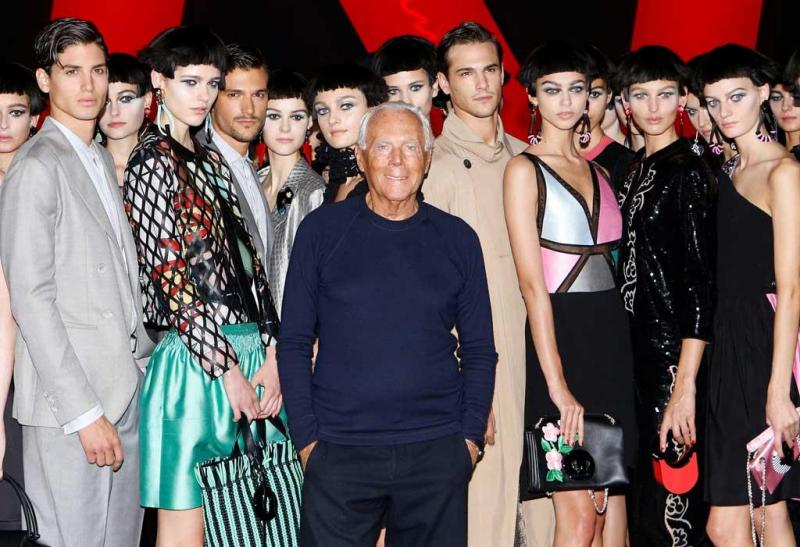 Modelos da Major Model Brasil estao presentes nos principais desfiles do mundo - Giorgio Armani